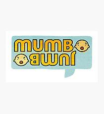 Mumbo Jumbo Photographic Print
