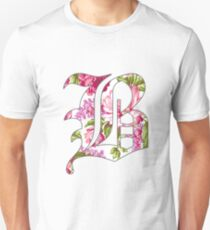 Floral Beartooth Design T-Shirt