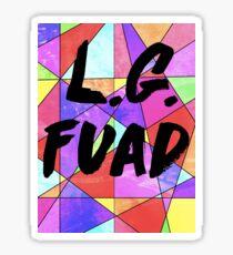 L.G. Faud Sticker