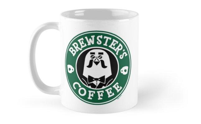 Brewster's Coffee Mug