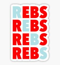 REBS - Ole Miss Rebels Sticker