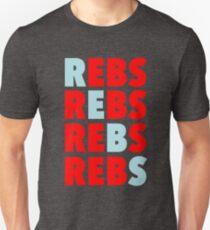 REBS - Ole Miss Rebels Unisex T-Shirt