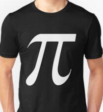 Pi White Unisex T-Shirt