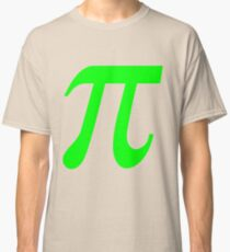 Pi - Green Lima Classic T-Shirt