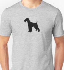 Airedale Terrier Silhouette(s) Unisex T-Shirt