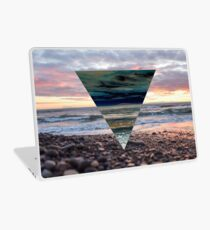 Sunset Triangle Vinilo para portátil
