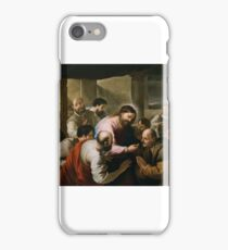 The Communion of the Apostles, Luca Giordano iPhone Case/Skin