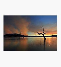 Smoke Rises Photographic Print