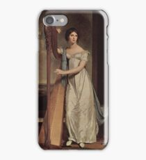 The Harpist, Thomas Sully iPhone Case/Skin
