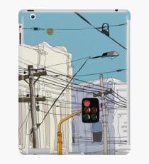 Melbourne Street Scene iPad Case/Skin