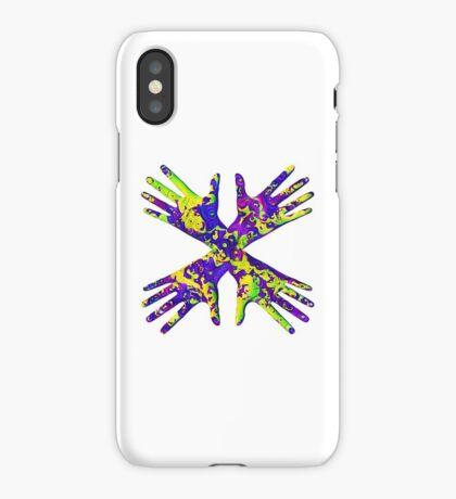 #DeepDream Painter's gloves 5x5K v1456325888 iPhone Case