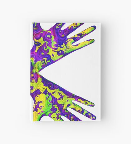 #DeepDream Painter's gloves 5x5K v1456325888 Hardcover Journal