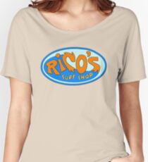 Rico's Surf Shop Women's Relaxed Fit T-Shirt