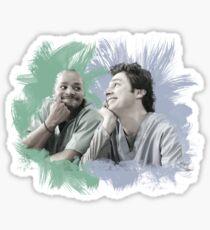 Turk & JD Bromance Sticker
