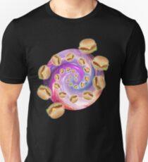 Spiral Galaxy of Burgers T-Shirt