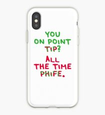 All The Time Phife iPhone Case