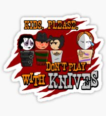 Don't Play With Knives Sticker