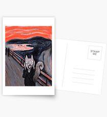 The Squirrel Scream Postcards