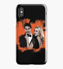 Chuck & Sarah iPhone Case