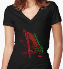A Tribe Called Quest The Low End Theory Women's Fitted V-Neck T-Shirt