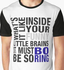 Sherlock quote typography Graphic T-Shirt