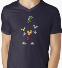 Juggling Men's V-Neck T-Shirt