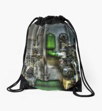 Engine Room Drawstring Bag
