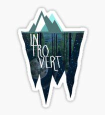 Introvertiert Sticker