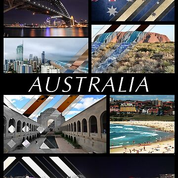 Australia T-Shirt by PatrickNewton
