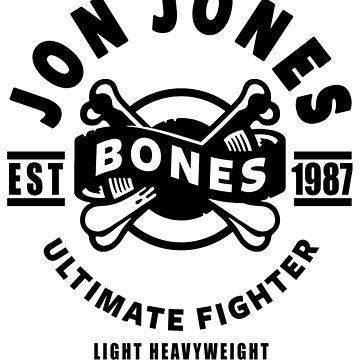 Jon Bones Jones by FightZoneUltra