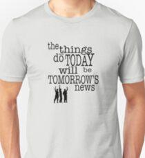 Die Nachrichten von morgen Slim Fit T-Shirt