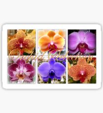 Orchid varieties Sticker
