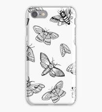 m o t h s iPhone Case/Skin