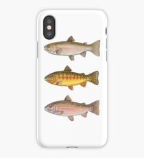 Trout Collection iPhone Case