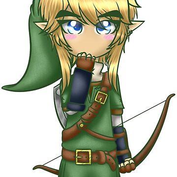 The Legend of Zelda Chibi Link by DuskStrider