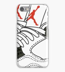 jordans illustration iPhone Case/Skin