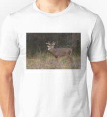 On the hunt - White-tailed deer Buck Unisex T-Shirt