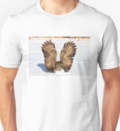 Caught - Great Grey Owl T-Shirt