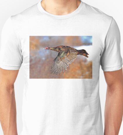 Turkey Flying - Wild Turkey, Ottawa, Canada T-Shirt