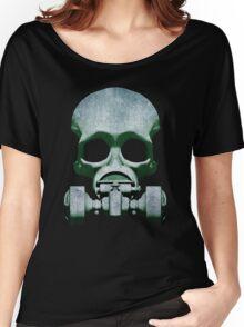 Steampunk / Cyberpunk Skull Gas Mask Women's Relaxed Fit T-Shirt