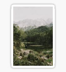 In Silence - Landscape Photography Sticker