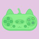Cute kitty controller by peppermintpopuk