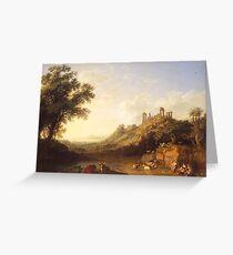 Jacob Philipp Hackert Landscape Greeting Card