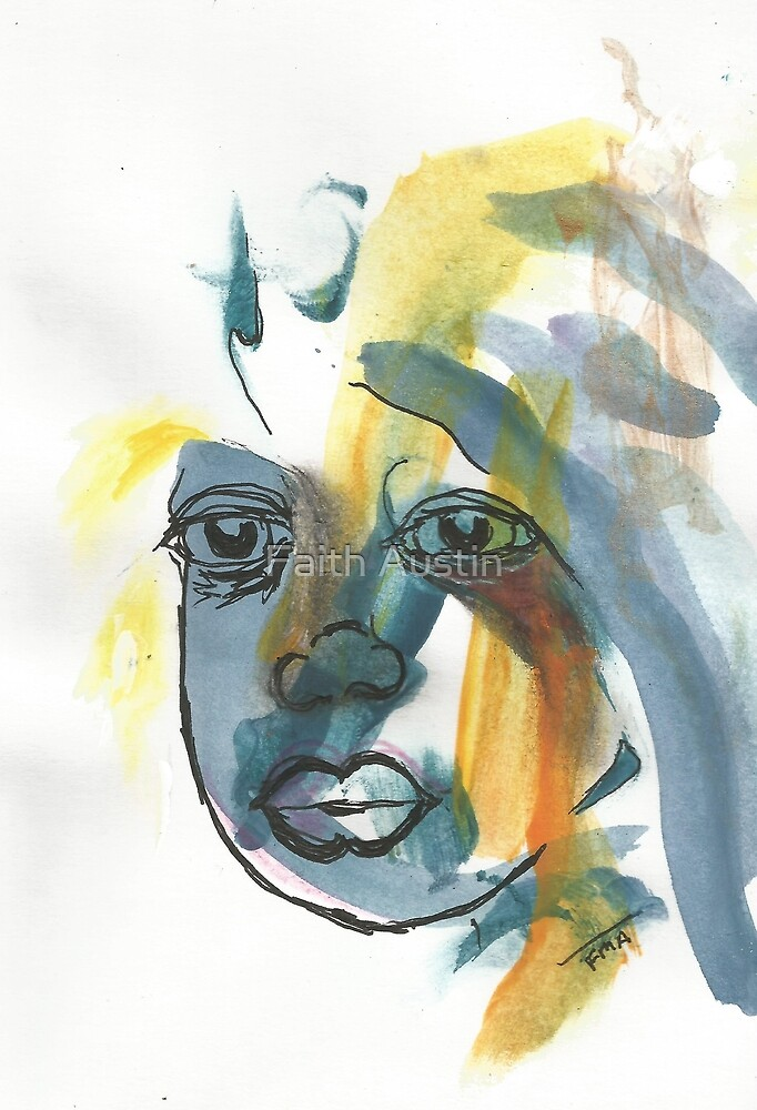 Bruised Reed - The Headdress by Faith Magdalene Austin
