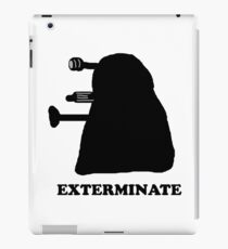 EXTERMINATE DALEK IN THE SHADOWS iPad Case/Skin