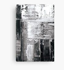 Purple Surface Bk Canvas Print