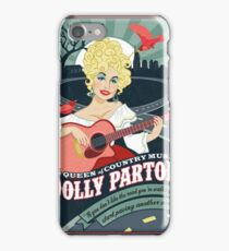 The Dolly Patron Art iPhone Case/Skin