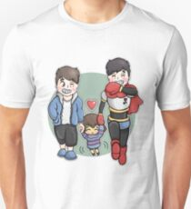 Dan And Phil x Undertale Unisex T-Shirt