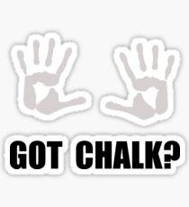 Got Chalk Sticker