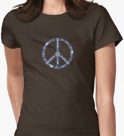 Paisley Peace Symbol T-Shirt